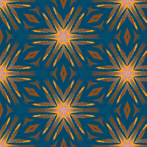 Starburst Abstract | Artistic Texture fabric by southwind on Spoonflower - custom fabric