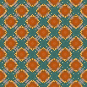 Orange Crate Abstract