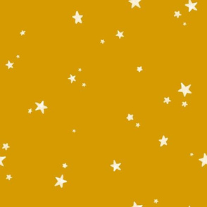 Dreamy Stars on Gold