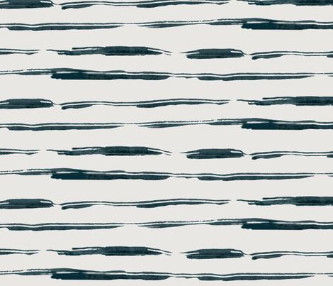 Beach Stripe fabric by alison_janssen on Spoonflower - custom fabric