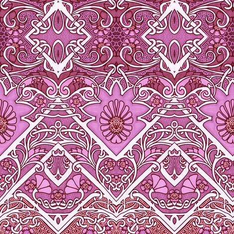 Zag Along Garden fabric by edsel2084 on Spoonflower - custom fabric