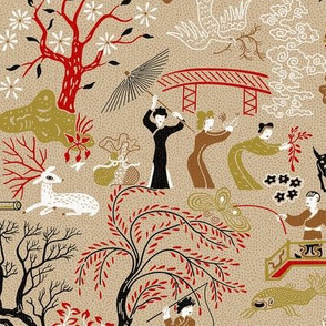 Midcentury Chinoiserie 1a