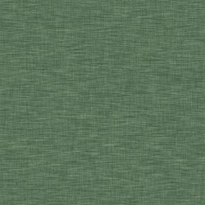 Moss Green Linen Solid - Northwoods Adventure Collection