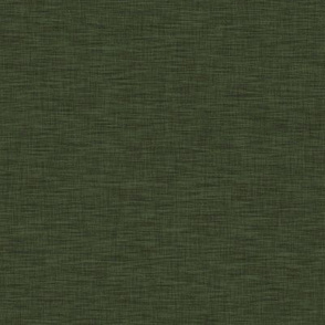 Hunter Green Linen Solid