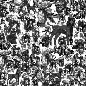 Inky Poodles - small