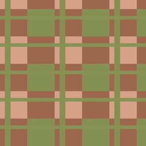 Plaid Party Beige