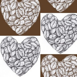 I love pen and ink Coffee Beans