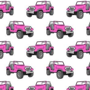 jeeps - pink