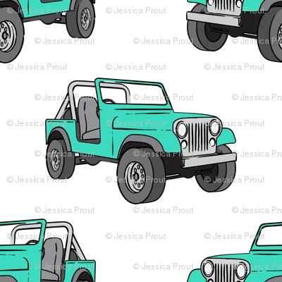 jeep - bright mint