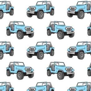 jeeps - blue
