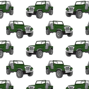 jeep - dark green