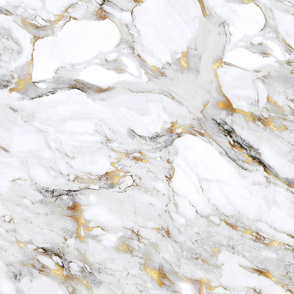Gilded Marble // Large Scale
