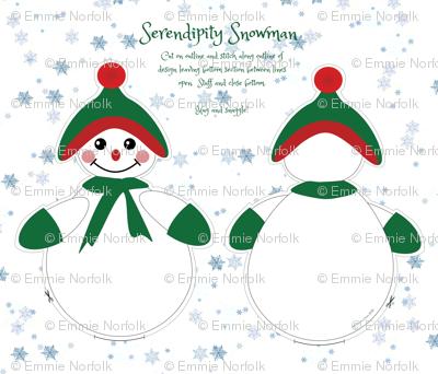 Serendipity Snowman