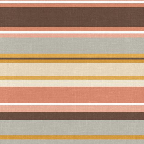 Vintage Kilim stripes (small) fabric by thekindredpines on Spoonflower - custom fabric