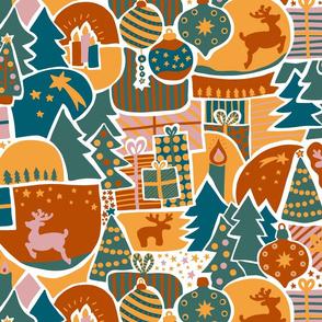 Christmas Time Mosaic