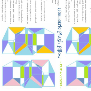 Geometric Plush