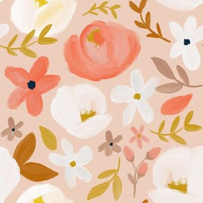 November's Florals - Autumn Blush