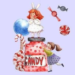 Christmas Candy Girls