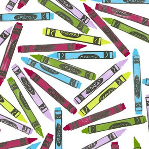 woodsy crayons