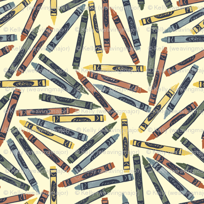 Bayeux palette crayons
