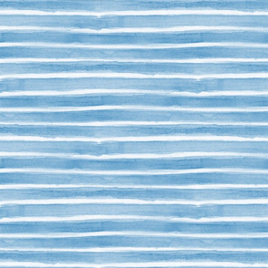 Watercolour stripes baby blue