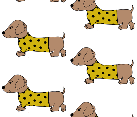 SWEATERDOG3 fabric by roses_for_frances on Spoonflower - custom fabric