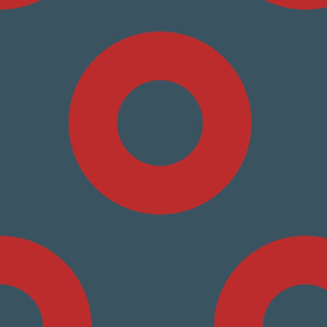 5-INCH  Fishman Donut Fabric
