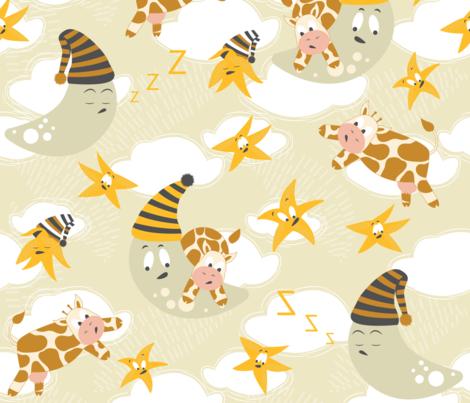 Nursery Rhymes fabric by femvisionary on Spoonflower - custom fabric