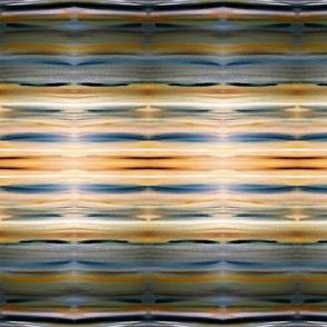 Blue Yellow & White Stripes