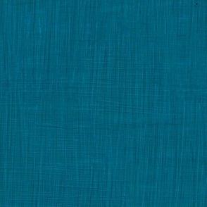 Lagoon blue Linen by Helenpdesigns
