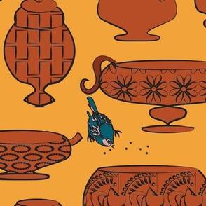Terracotta Pots defined palette