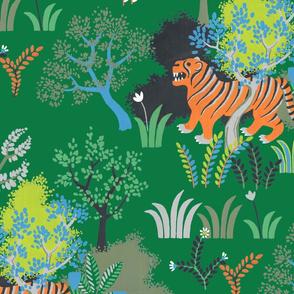 tiger tiger (green)