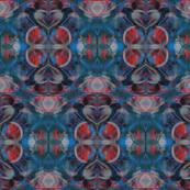 Aztec Round Abstract