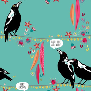 Australian Bird Fabric Wallpaper Gift Wrap Spoonflower