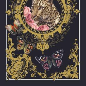 Leopard Cartouche