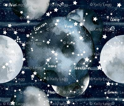Moons & Star signs