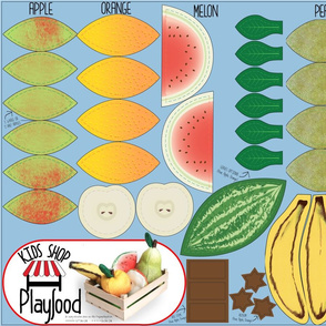 Cut N Sew Playfood: Vol. Fruits