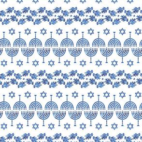 Hanukkah in Blue