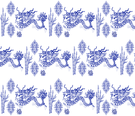 chinoiserie-designjoxx fabric by designjoxx on Spoonflower - custom fabric