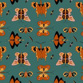 Geometric butterflies (SF palette)