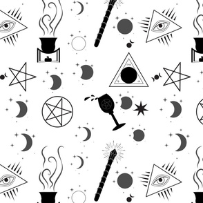 Witching Hour Tea Towel