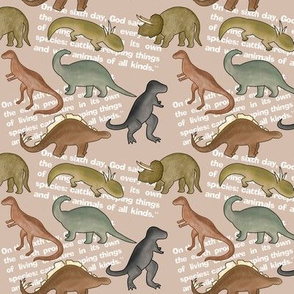 Scripture: Dinosaurs