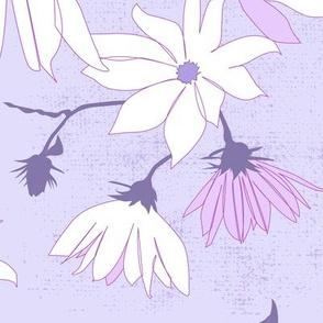 large jerusalem artichoke flowers