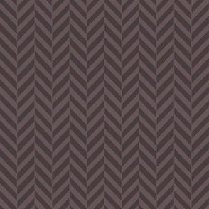 Subtle Herringbone Brown