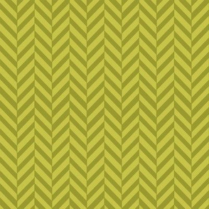Subtle Herringbone in Earthy Green