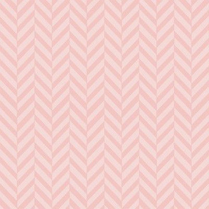 Subtle Herringbone Soft Pink