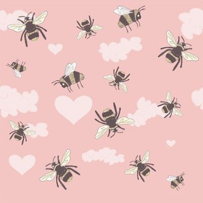 Silly Bees Pink