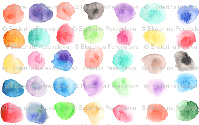 Watercolor Gender Neutral Nursery Wallpaper