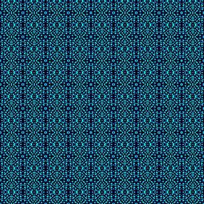 A Bit Mosaic - Blue Green Aqua