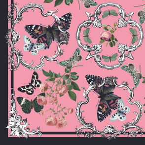 Butterfly Baroque Scarf